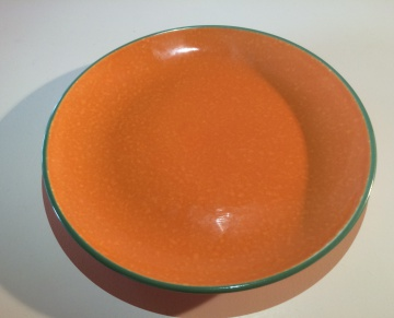 Orange bord 21cm