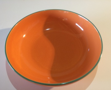 Orange buffet bowl 29cm