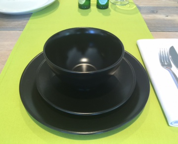 Salad Bowl Black