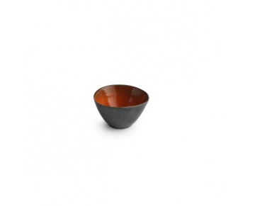 Silver/Red Salad Bowl