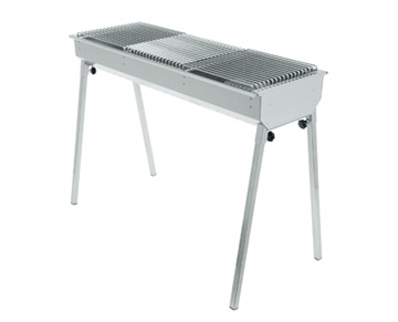 Barbeque houtskool 115X40